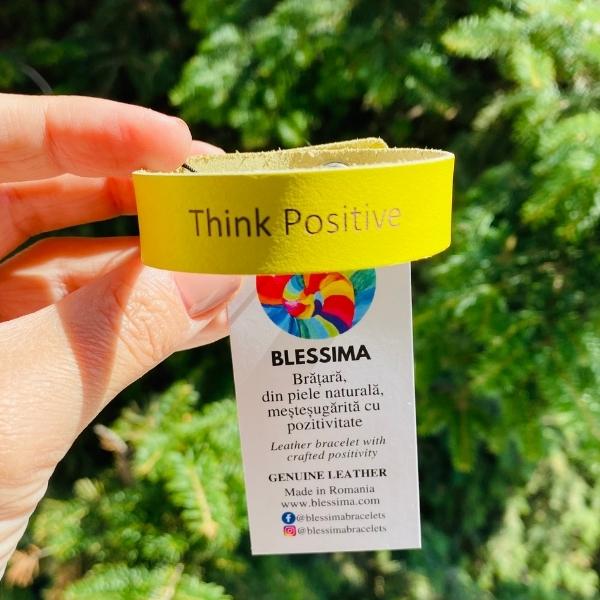 Think Positive Bratara Blessima